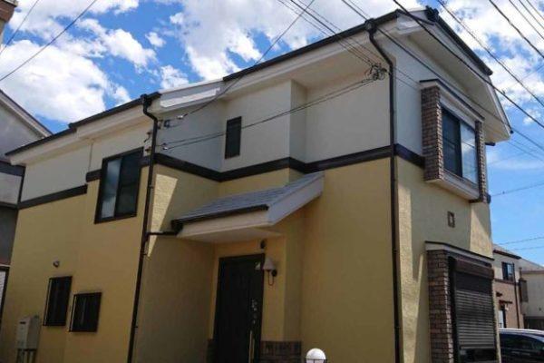 外壁塗装・屋根塗装・付帯部塗装・プレミアムシリコン 埼玉県加須市 (2)