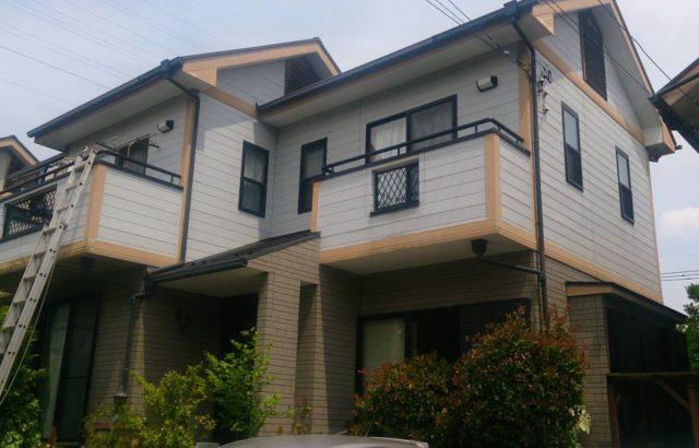 埼玉県幸手市 外壁塗装・屋根塗装・コーキング工事 プレミアムシリコン (1)