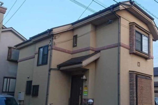 外壁塗装・屋根塗装・付帯部塗装・プレミアムシリコン 埼玉県加須市 (1)
