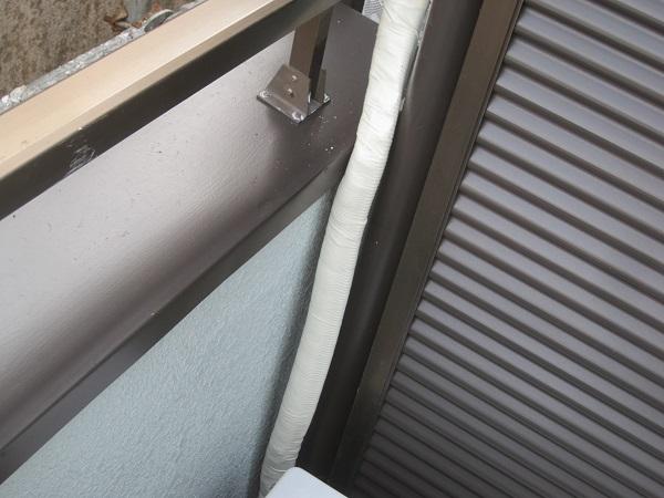 埼玉県幸手市 外壁塗装 付帯部塗装 雨戸 オートンイクシード