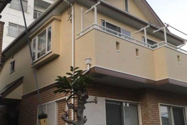 埼玉県春日部市 外壁塗装 水谷ペイント ナノコンポジットW (2)