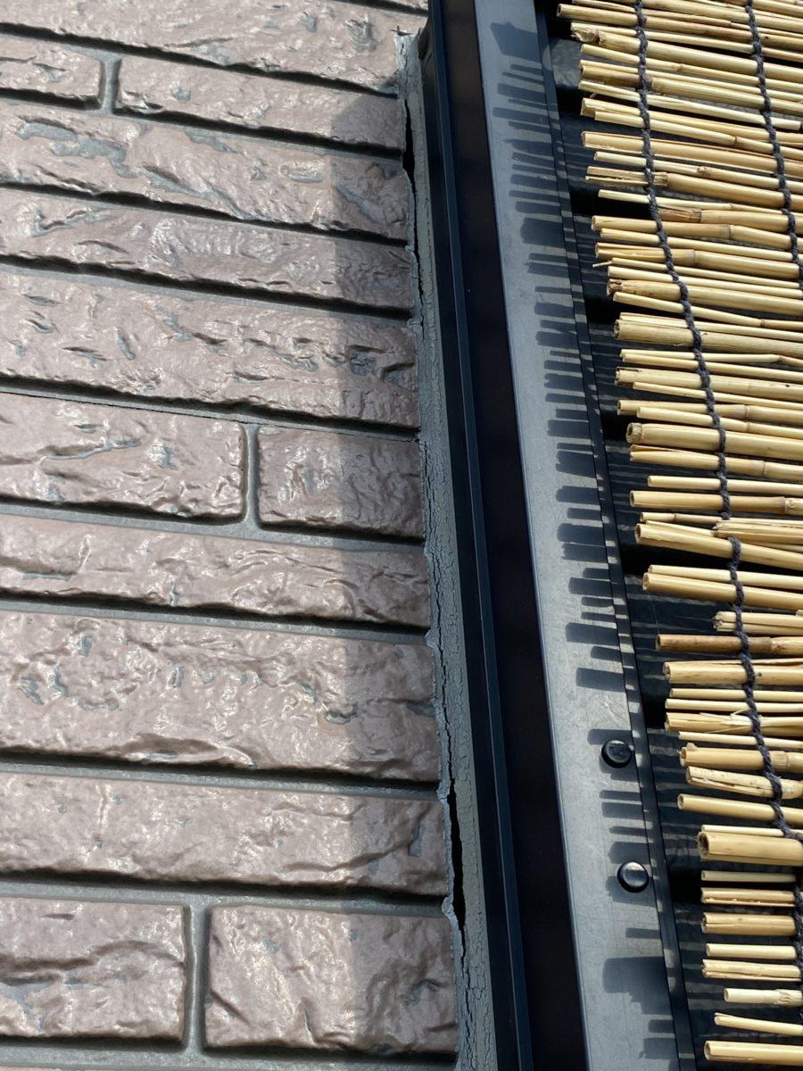 白岡市外壁コーキング工事