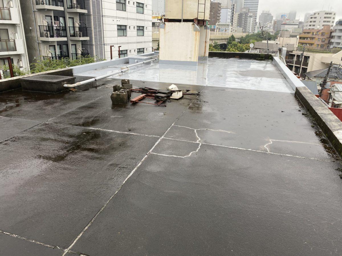 久喜市屋上雨漏り