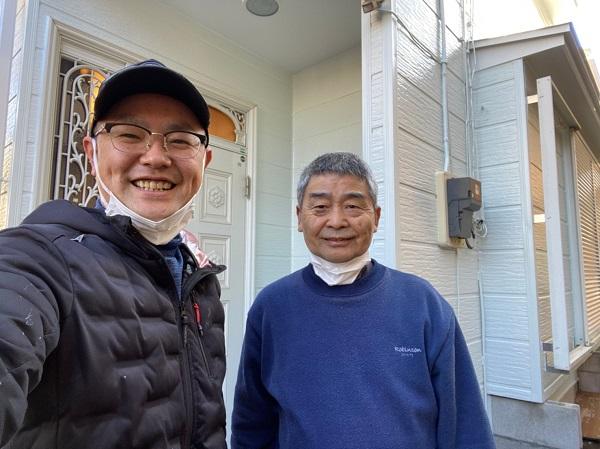 越谷市のS様邸にて、屋根塗装、外壁塗装、防水工事、付帯部塗装を行いました!