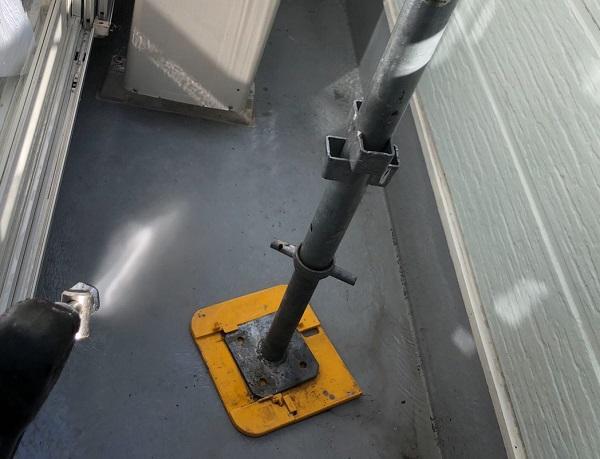 埼玉県越谷市 S様邸 外壁塗装・屋根塗装・付帯部塗装 高圧洗浄の必要性 高圧洗浄をしないケース (8)