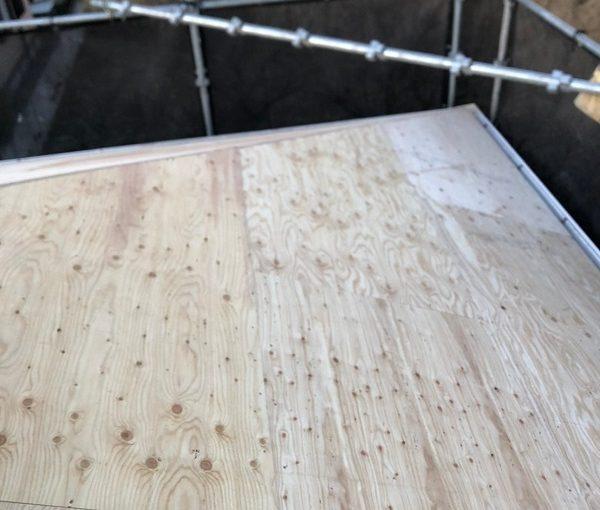 埼玉県春日部市 M様邸 屋根カバー工法・外壁塗装・付帯部塗装 既存部材撤去 野地板・ルーフィング張り (11)