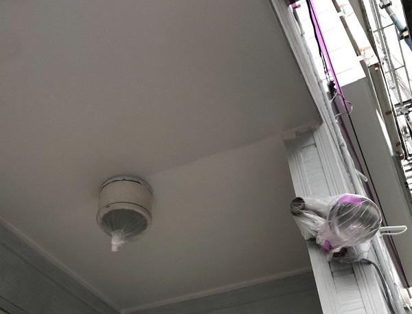 埼玉県越谷市 S様邸 外壁塗装・屋根塗装・付帯部塗装 軒天塗装 軒天の特徴 (2)