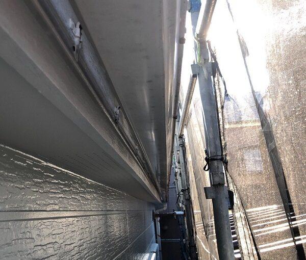 埼玉県越谷市 S様邸 外壁塗装・屋根塗装・付帯部塗装 鼻隠し・破風板塗装 付帯部を塗装する理由とは (7)
