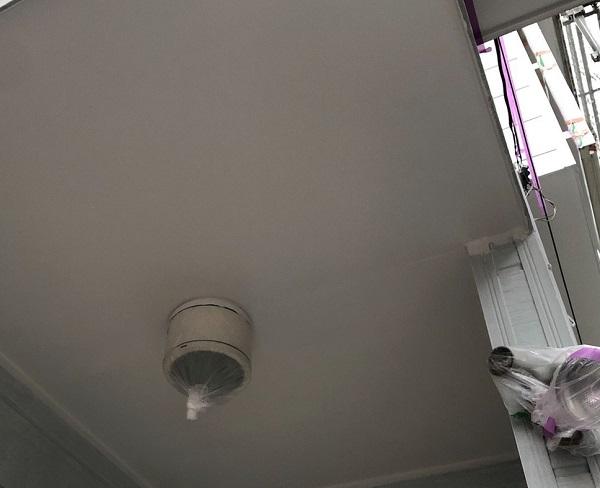 埼玉県越谷市 S様邸 外壁塗装・屋根塗装・付帯部塗装 軒天塗装 軒天の特徴 (1)