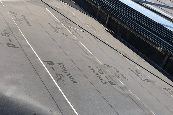 埼玉県春日部市 M様邸 屋根カバー工法・外壁塗装・付帯部塗装 既存部材撤去 野地板・ルーフィング張り (8)