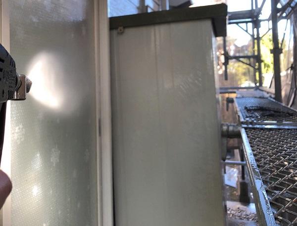 埼玉県越谷市 S様邸 外壁塗装・屋根塗装・付帯部塗装 高圧洗浄の必要性 高圧洗浄をしないケース (4)