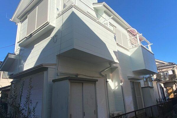 埼玉県越谷市 S様邸 外壁塗装・屋根塗装・付帯部塗装・シーリング工事・防水塗装 (4)