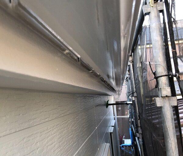 埼玉県越谷市 S様邸 外壁塗装・屋根塗装・付帯部塗装 鼻隠し・破風板塗装 付帯部を塗装する理由とは (1)