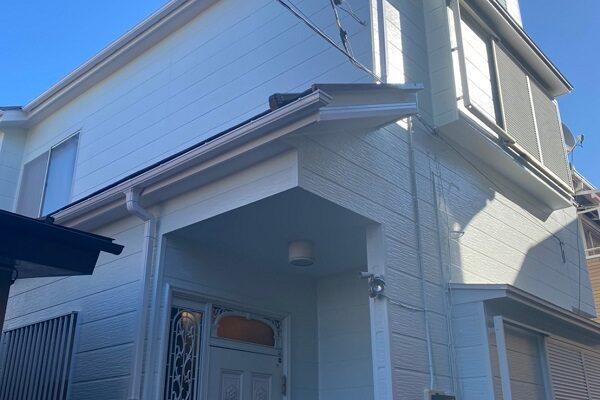 埼玉県越谷市 S様邸 外壁塗装・屋根塗装・付帯部塗装・シーリング工事・防水塗装 (2)