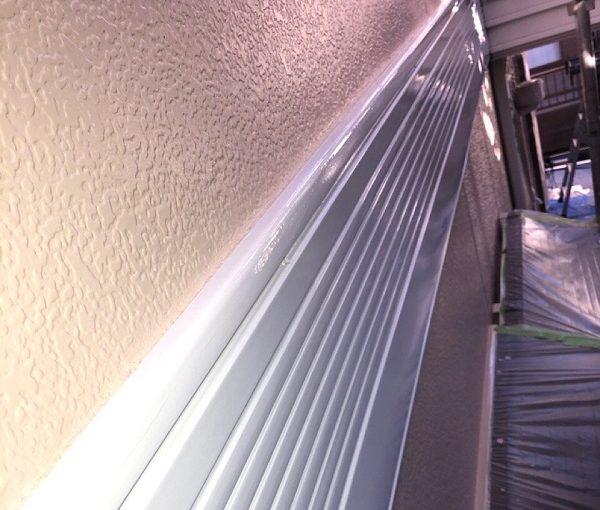 埼玉県春日部市 M様邸 屋根カバー工法・外壁塗装・付帯部塗装 帯の塗装 帯板のメンテナンスの種類 (4)