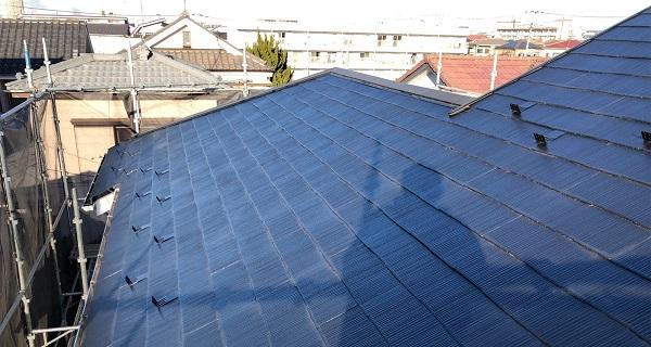 埼玉県越谷市 S様邸 外壁塗装・屋根塗装・付帯部塗装 スレート屋根 ファインパーフェクトベスト (6)