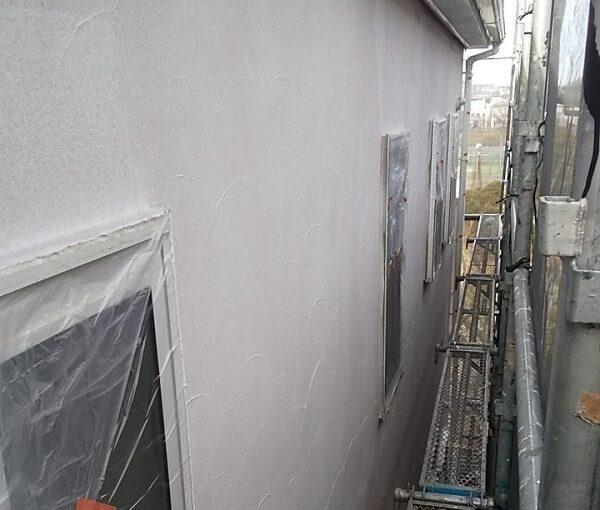 埼玉県川口市 K様邸 屋根塗装 外壁塗装 モルタル外壁の塗装 水系ファインコートフッ素 (10)