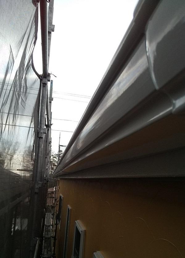埼玉県川口市 K様邸 屋根塗装 外壁塗装 雨樋塗装 雨樋を塗装する目的とは (2)