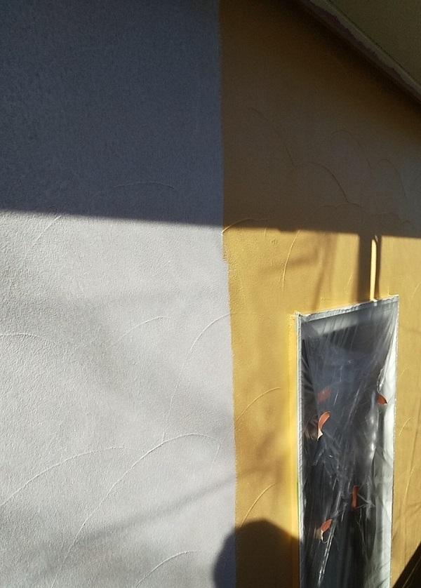 埼玉県川口市 K様邸 屋根塗装 外壁塗装 モルタル外壁の塗装 水系ファインコートフッ素 (2)