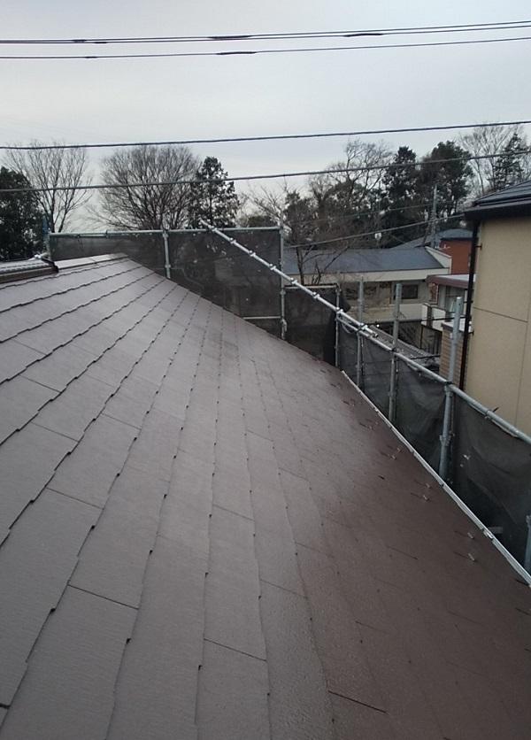 埼玉県川口市 K様邸 屋根塗装 外壁塗装 屋根用高日射反射率塗料 SPパワーサーモフッ素 (3)