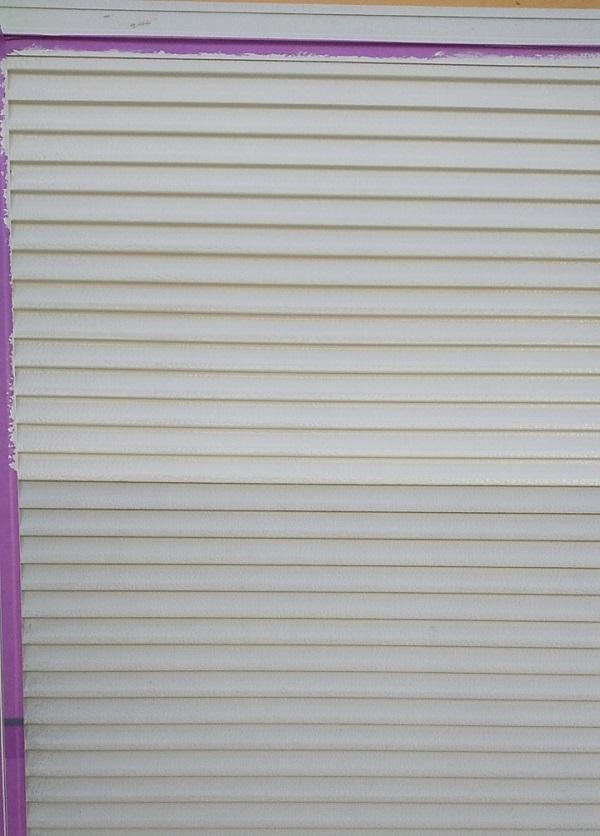 埼玉県川口市 K様邸 屋根塗装 外壁塗装 雨戸塗装 塗装できる雨戸とできない雨戸 (2)