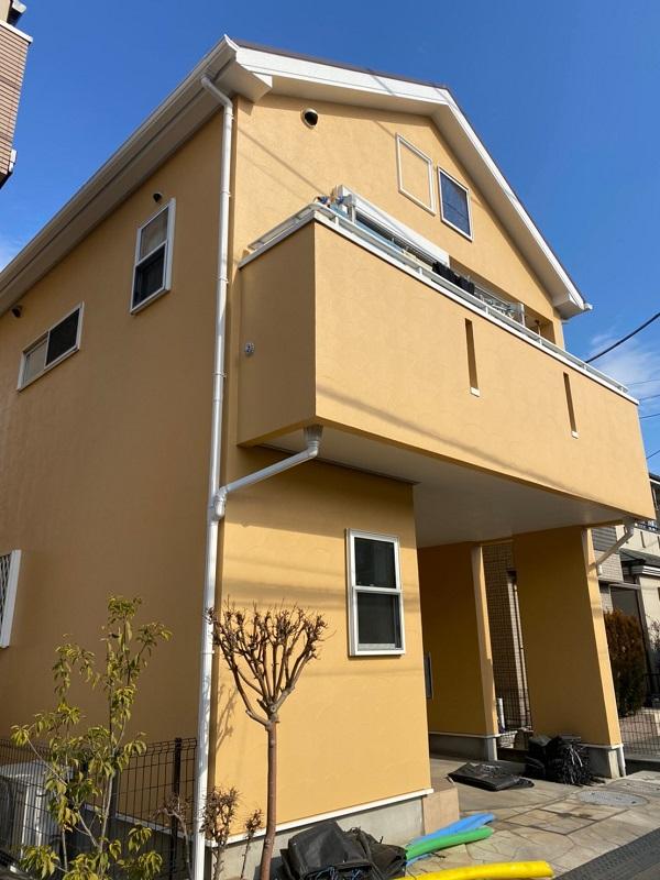 埼玉県川口市 屋根塗装 外壁塗装 付帯部塗装 (8)
