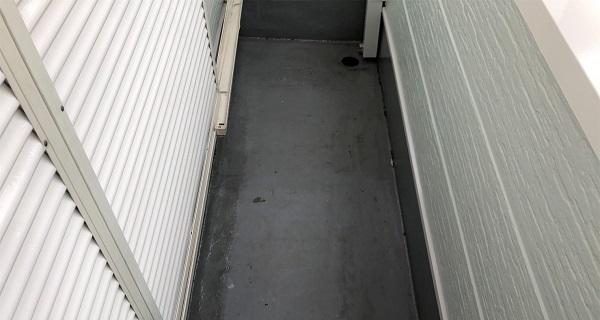 埼玉県越谷市 S様邸 外壁塗装・屋根塗装・付帯部塗装 ベランダ防水工事 ウレタン防水 密着工法 (6)