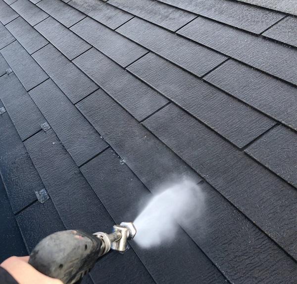 埼玉県上尾市 M様邸 外壁塗装 屋根塗装 下地処理 高圧洗浄 (13)