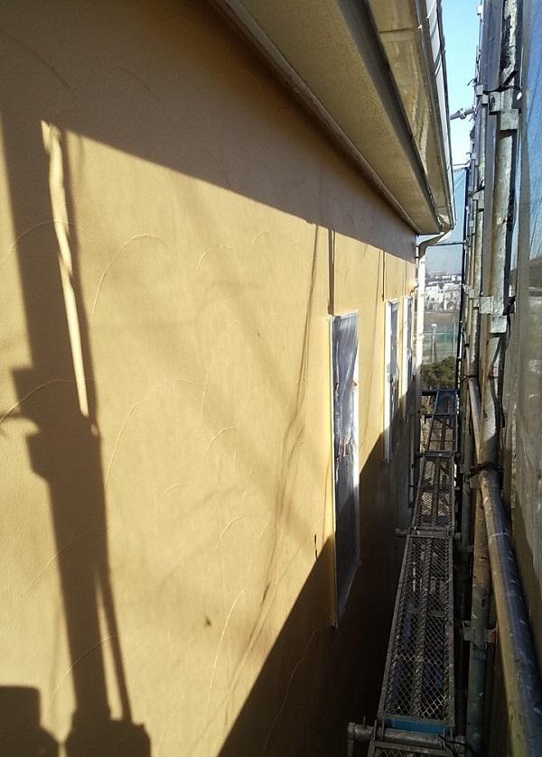 埼玉県川口市 K様邸 屋根塗装 外壁塗装 モルタル外壁の塗装 水系ファインコートフッ素 (4)