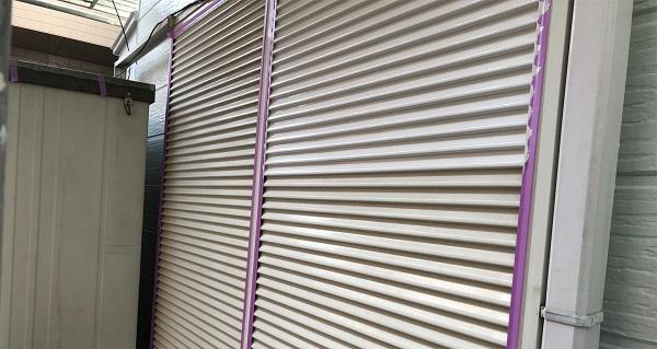 埼玉県越谷市 S様邸 外壁塗装・屋根塗装・付帯部塗装 雨戸・水切り塗装 ロックペイント ユメロック (8)