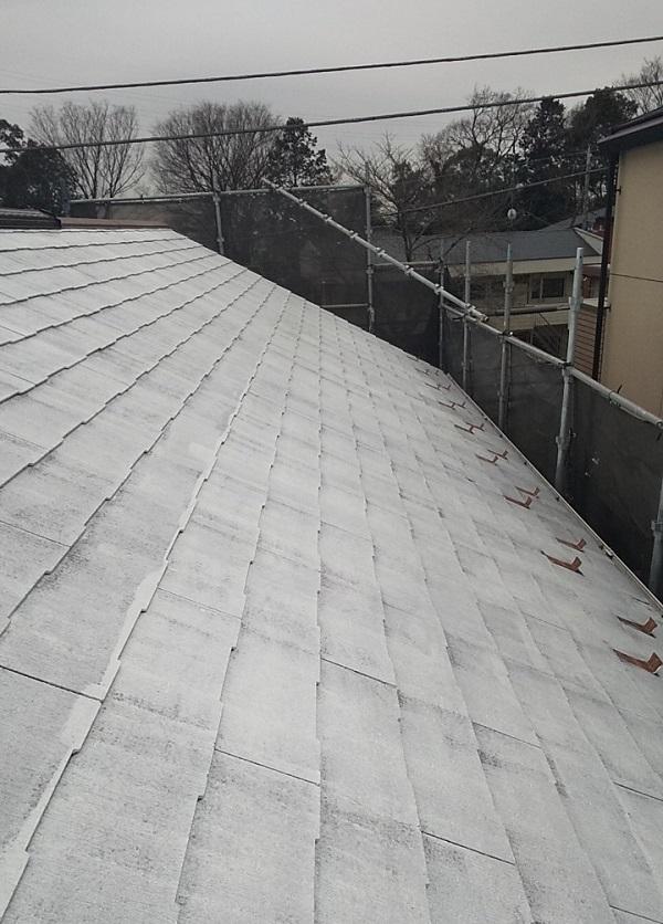 埼玉県川口市 K様邸 屋根塗装 外壁塗装 屋根用高日射反射率塗料 SPパワーサーモフッ素 (5)