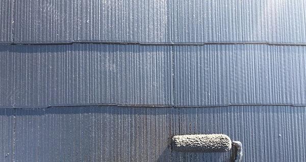 埼玉県越谷市 S様邸 外壁塗装・屋根塗装・付帯部塗装 スレート屋根 ファインパーフェクトベスト (2)