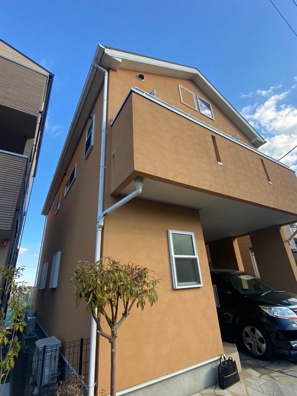 埼玉県川口市 屋根塗装 外壁塗装 付帯部塗装 (4)