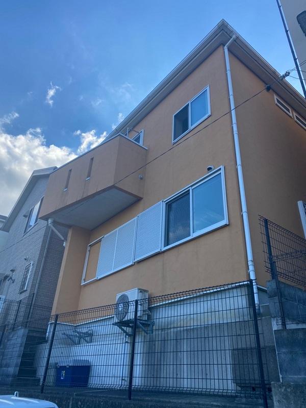 埼玉県川口市 屋根塗装 外壁塗装 付帯部塗装 (3)