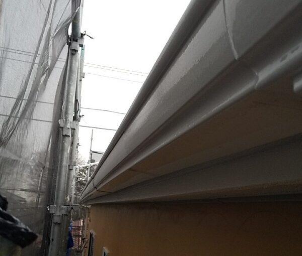 埼玉県川口市 K様邸 屋根塗装 外壁塗装 雨樋塗装 雨樋を塗装する目的とは (3)