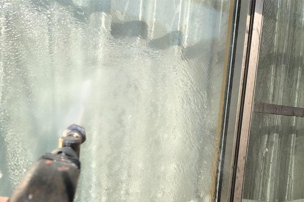 埼玉県上尾市 M様邸 外壁塗装 屋根塗装 下地処理 高圧洗浄 (2)