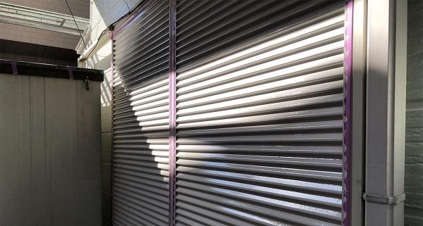 埼玉県越谷市 S様邸 外壁塗装・屋根塗装・付帯部塗装 雨戸・水切り塗装 ロックペイント ユメロック (1)