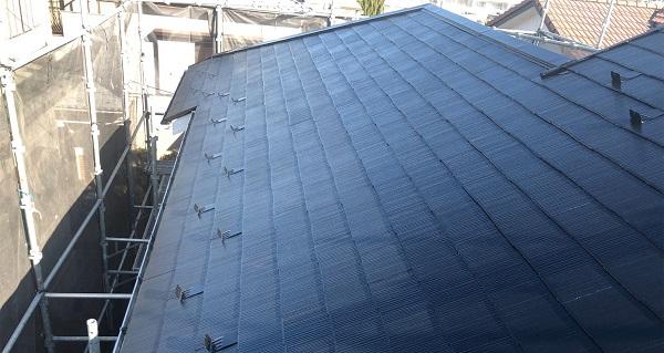 埼玉県越谷市 S様邸 外壁塗装・屋根塗装・付帯部塗装 スレート屋根 ファインパーフェクトベスト (3)