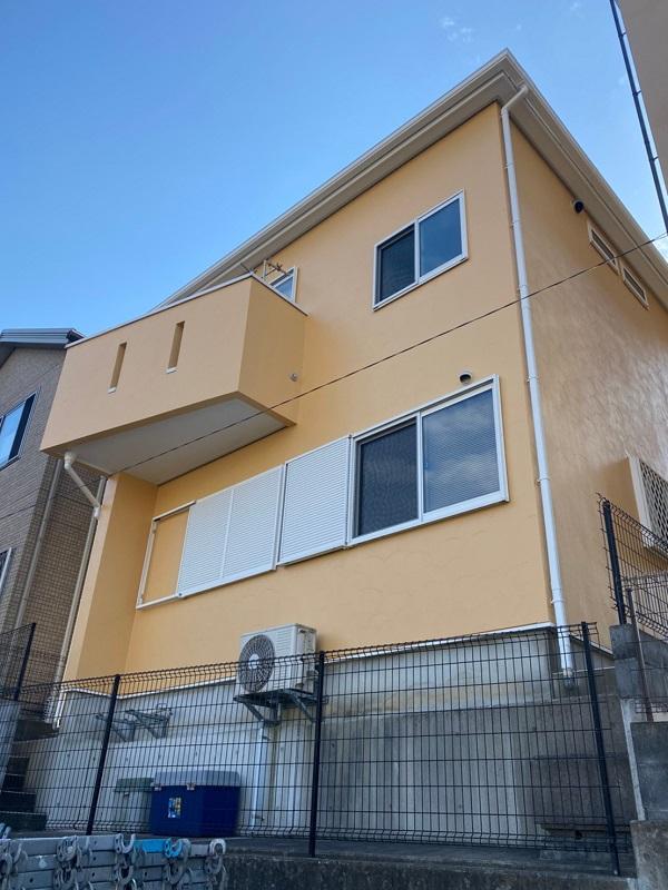 埼玉県川口市 屋根塗装 外壁塗装 付帯部塗装 (6)