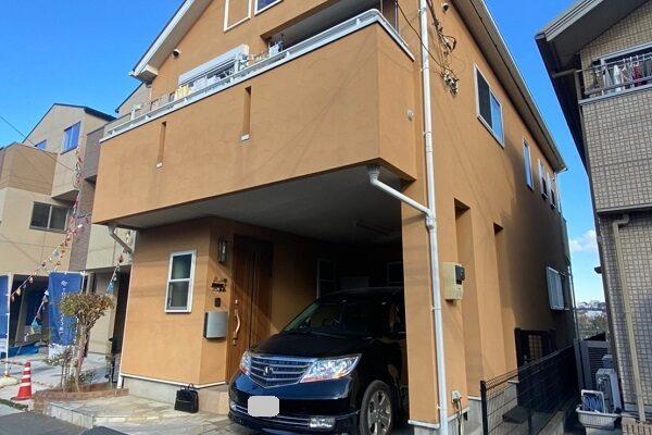 埼玉県川口市 屋根塗装 外壁塗装 付帯部塗装 (5)