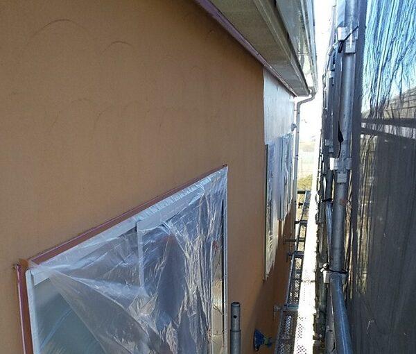 埼玉県川口市 K様邸 屋根塗装 外壁塗装 モルタル外壁の塗装 水系ファインコートフッ素 (8)