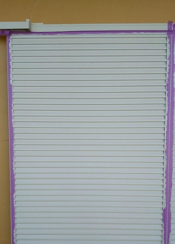 埼玉県川口市 K様邸 屋根塗装 外壁塗装 雨戸塗装 塗装できる雨戸とできない雨戸 (1)