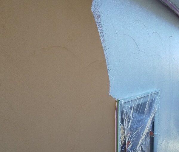 埼玉県川口市 K様邸 屋根塗装 外壁塗装 モルタル外壁の塗装 水系ファインコートフッ素 (9)