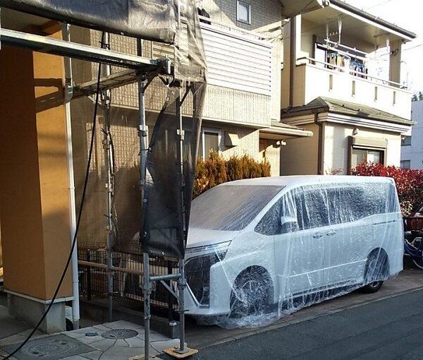 埼玉県川口市 K様邸 屋根塗装 外壁塗装 高圧洗浄 下地処理を行う理由 (9)