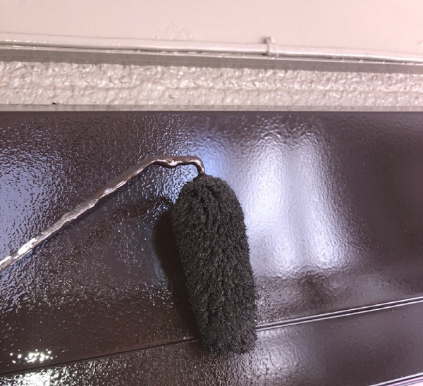 埼玉県鴻巣市 屋根塗装・屋根カバー工法・外壁塗装 シャッターボックス塗装 雨戸塗装 (7)
