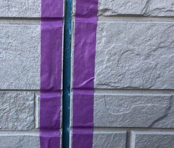 埼玉県上尾市 M様邸 外壁塗装 屋根塗装 シーリング(コーキング)工事 ボードの継ぎ目 棟板金の釘の補強 (2)