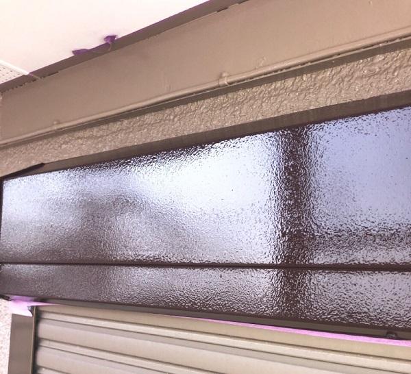 埼玉県鴻巣市 屋根塗装・屋根カバー工法・外壁塗装 シャッターボックス塗装 雨戸塗装 (8)