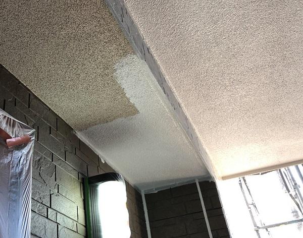 埼玉県上尾市 M様邸 外壁塗装 屋根塗装 付帯部 軒天塗装 鼻隠し塗装 (3)