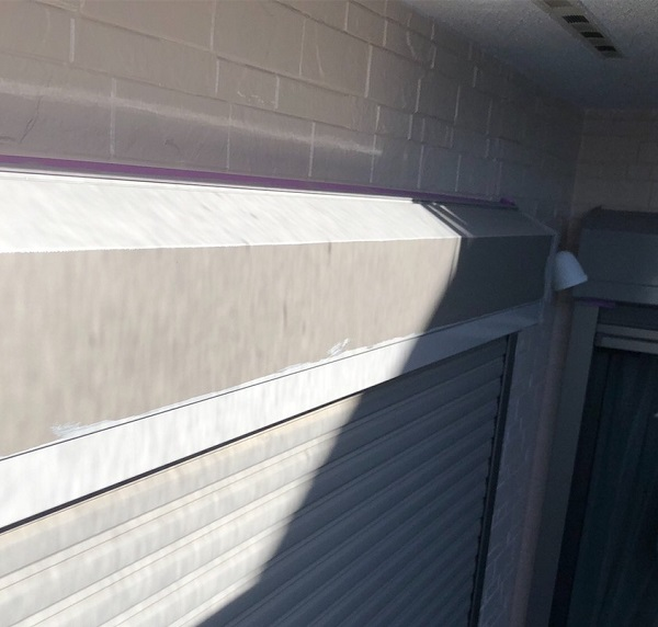 埼玉県上尾市 M様邸 外壁塗装 屋根塗装 付帯部塗装 雨樋・シャッターボックス・水切り 鉄部の塗装 (10)