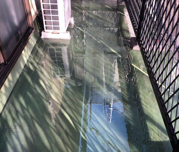 埼玉県鴻巣市 屋根塗装・屋根カバー工法・外壁塗装 下地処理 高圧洗浄 (4)